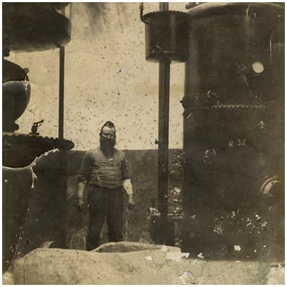צילום תמונה ישנה של מרדכי טפרברג