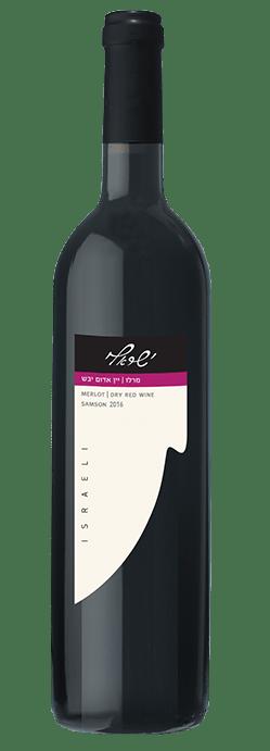 מרלו יין אדום יבש 2016