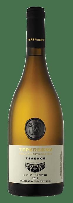 בקבוק שרדונה - יין לבן יבש