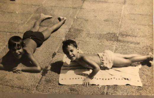 רותי וחמי רודנר בילדותם