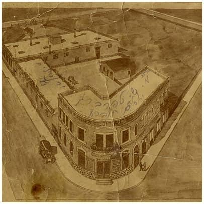 מבנה היקב, רוממה ירושלים, 1925