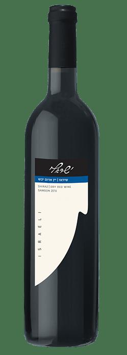 שיראז - יין אדום יבש - ישראלי