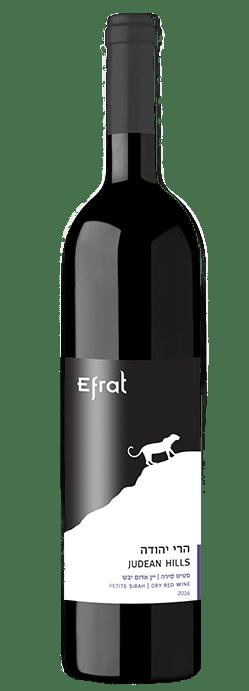בקבוק יין אדום יבש פטיט סירה 2016