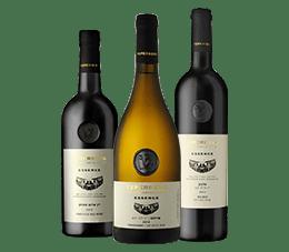 3 בקבוקי יין מסוג אסנס