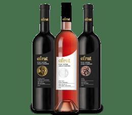 3 בקבוקי יין סדרת ממלכת יהודה