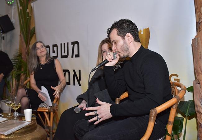 סנדרה שדה ומיכאל מושונב בראיון