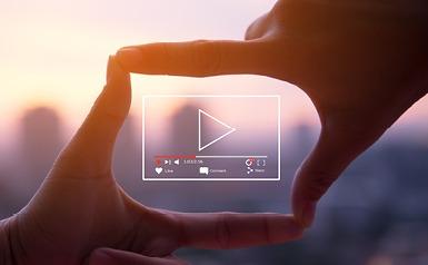 סרטון וידאו, לחצן פליי