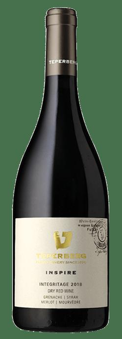 בקבוק יין אדום יבש אינטגריטאז' סדרת אינספייר