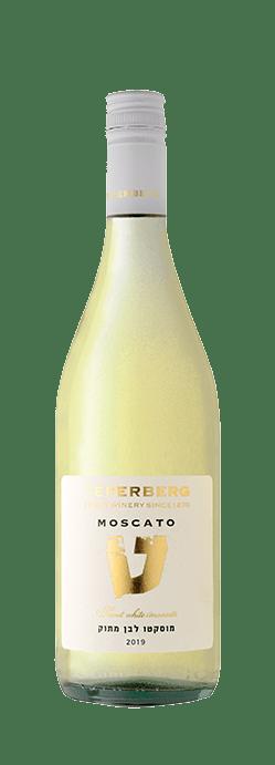 בקבוק יין מוסקטו לבן מתוק, בציר 2019