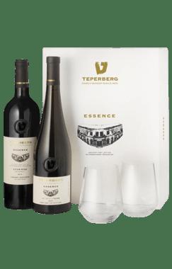 מארז אסנס עם כוסות יין